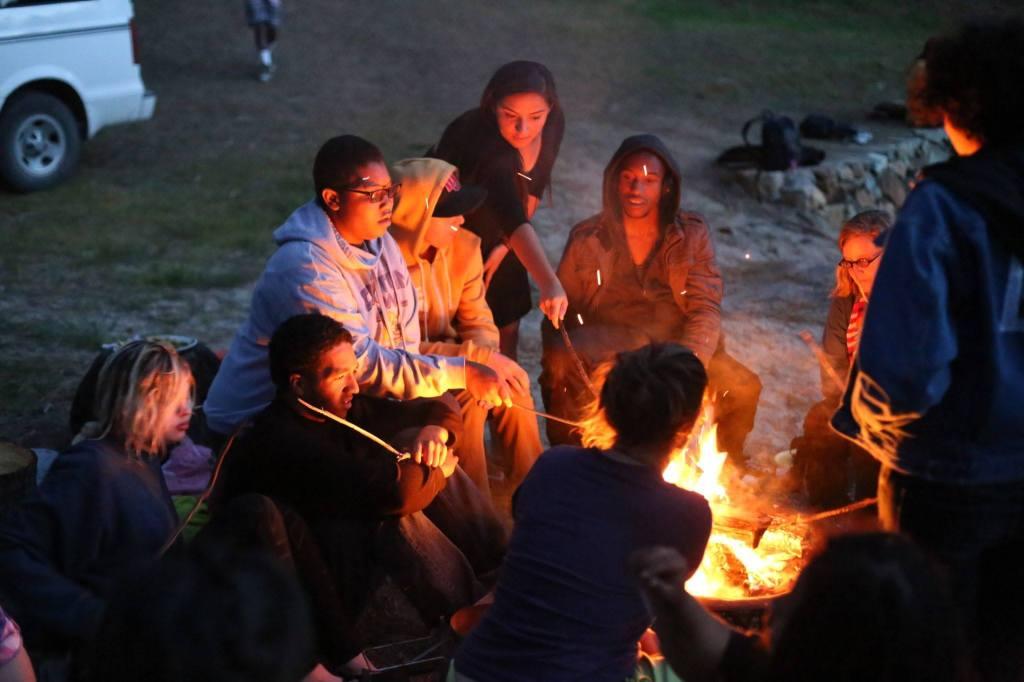 Camp fire woolman